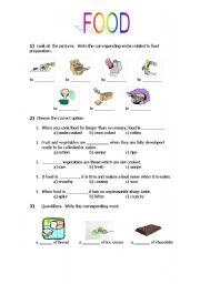 food - ESL worksheet by valesc
