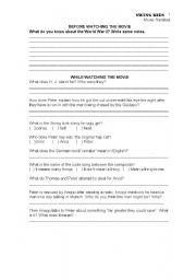 English Worksheets: Swing Kids - Movie Handout