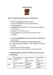 English Worksheets: guess the film