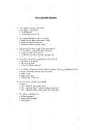 English Worksheet: inference