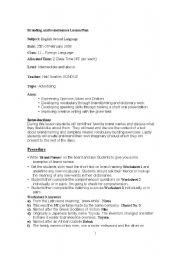 English Worksheets: brands
