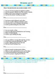 verbs of perception/senses
