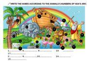 English Worksheets: NOA�S ARK