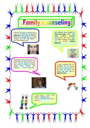 English Worksheets: You need a counselor, cookie!