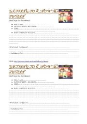 English worksheet: Information about Mark Twain