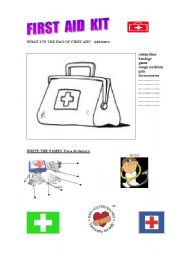 First Aid Worksheets For Teens Worksheets for all | Download and ...