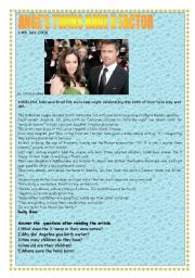 English Worksheets: Angie´s twins