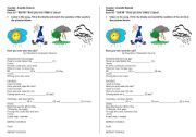 English Worksheets: Song - Have you ever seen the rain? by Creedence Clearwater Revival