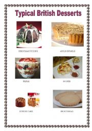 Typical British Desserts