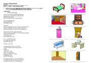 English Worksheet: Song - Your house by Alanis Morissette