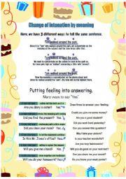 Practice intonation part2