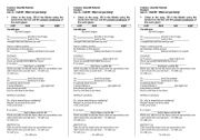 English Worksheet: Song - I�m with you by Avril Lavigne