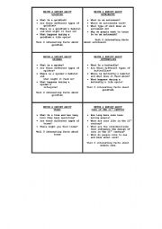 English Worksheet: Ideas for Writing A Report