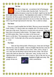 The Sun The Moon The Stars