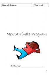 English Worksheets: New Arrivals Program Sample