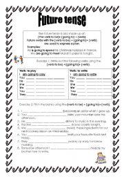 Future Tense - worksheet by nicolazammit