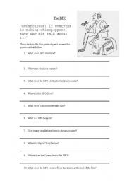 Worksheet Bfg Worksheets english worksheets the b f g quiz worksheet quiz