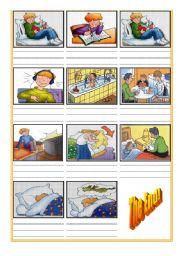 Daily Routine Cartoon (Part2)