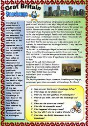 English Worksheet: GREAT BRITAIN. PART 2. 29.07.2008.