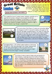 English Worksheet: GREAT BRITAIN. PART 3.   29.07.2008.