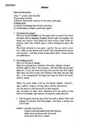 English Worksheets: Medusa