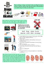 What do you need to know about drugs and alcohol