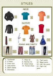 English Worksheet: Clothes Pictionary (3/5) 31-07-08