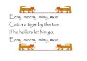 English Worksheets: Eeny meeny miny moe