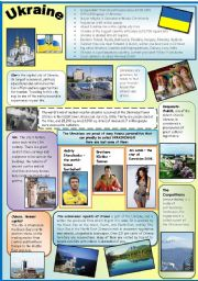 English Worksheet: UKRAINE.