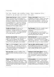 English Worksheets: charades
