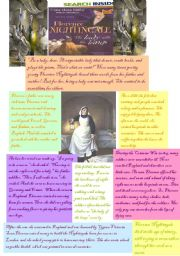 English Worksheets: The Lady with the Lamp