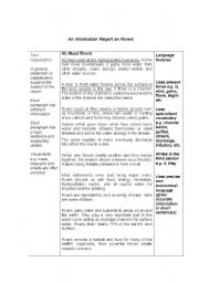 English Worksheets: Information Reports