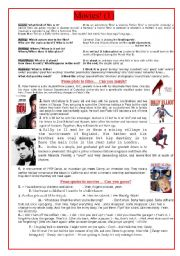 English Worksheet: Movies! (1)