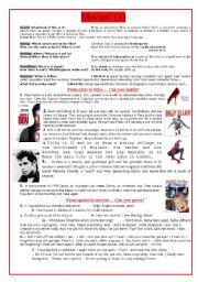 English Worksheets: Movies! (1)