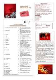 English Worksheets: Movies (2)