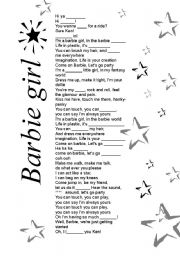 Barbie Movies Song Lyrics - Test - Quotev