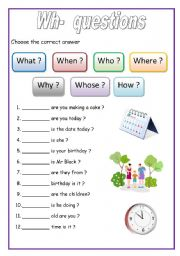 Worksheets Wh Question Worksheets english exercises wh questions for beginners level elementary age 6 10 downloads 1825