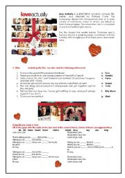 English Worksheet: Love Actually