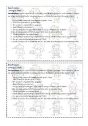 English Worksheet: Talk about sports anf fitness activities!
