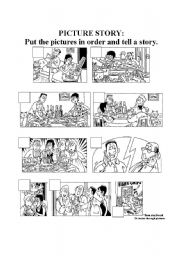 english worksheets picture story worksheets. Black Bedroom Furniture Sets. Home Design Ideas
