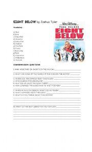 English Worksheets: Eight Below Movie