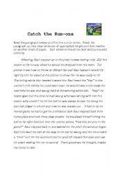 Identifying Sentences: At the Beach! | Sentence fragments ...
