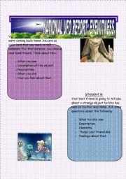 English Worksheets: UFOS