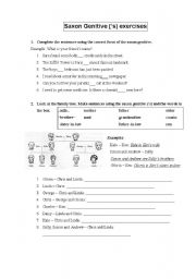 Worksheets Saxon Phonics Worksheets english teaching worksheets saxon genitive genitive