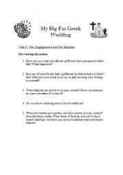 My Big Fat Greek Wedding Part B