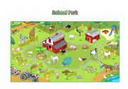 English Worksheet: Animal park
