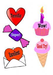 English Worksheets: Rewards
