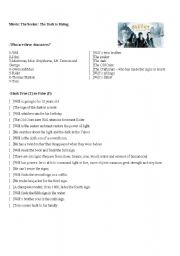 English Worksheets Movie The Seeker The Dark Is Rising