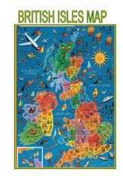 English Worksheet: Maps-British Isles map
