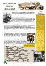 English Worksheet: Bonnie and Clyde
